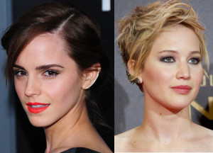 Emma Watson Jennifer Lawrence Ear Cuffs