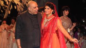 Bridal Collections Tarun Tahiliani Jacqueline Fernandez Lakme Fashion Week