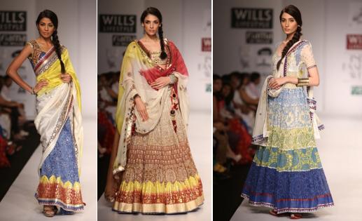 Wills Lifestyle India Fashion Week 2014 Poonam Dube