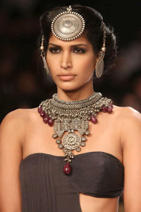 Apala by Sumit at IIJW 2014   Indian Tribal Jewellery