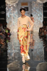 Masaba Gupta's Collection at Lakme Fashion Week Winter Festive 2014 Collection