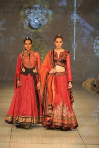 Beautiful bridal clothes from India Bridal Fashion Week