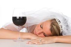 Don't relax with a glass of wine on your big day | Indian Weddings can be very stressful