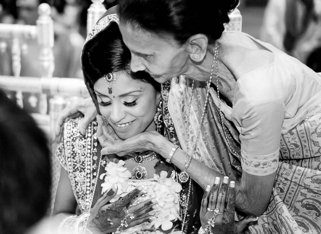 Elders Blessings - Indian Wedding