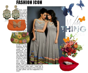 The Wild Side - Anarkali Dress