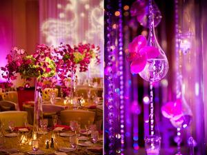 wedding sarees - reception venue