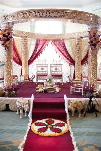 wedding sarees - wedding venue