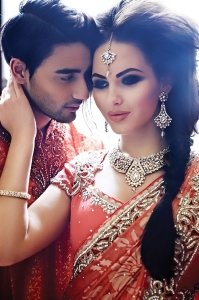 wedding sarees - his and hers outfit