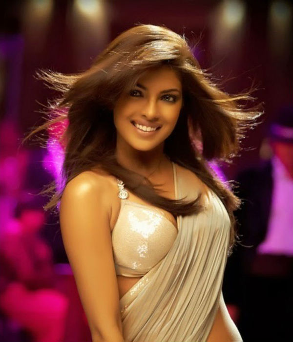 Priyanka Chopra's Saree in Dostana - Bollywood Sarees