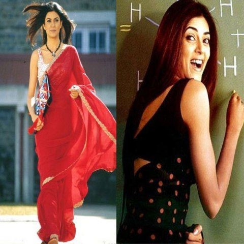 Sushmita Sen's Saree in Main Hoon Na - Bollywood Sarees