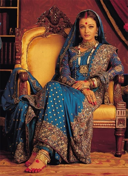 Aishwarya Rai's Saree in Devdas - Bollywood Sarees