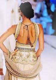 Fancy back | Fashion in India