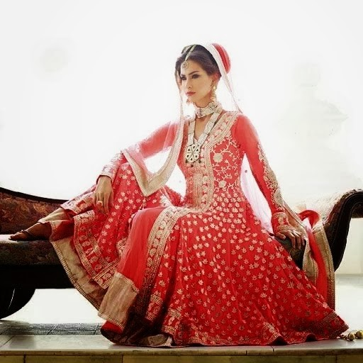 Red Bridal lehenga | Fashion in India