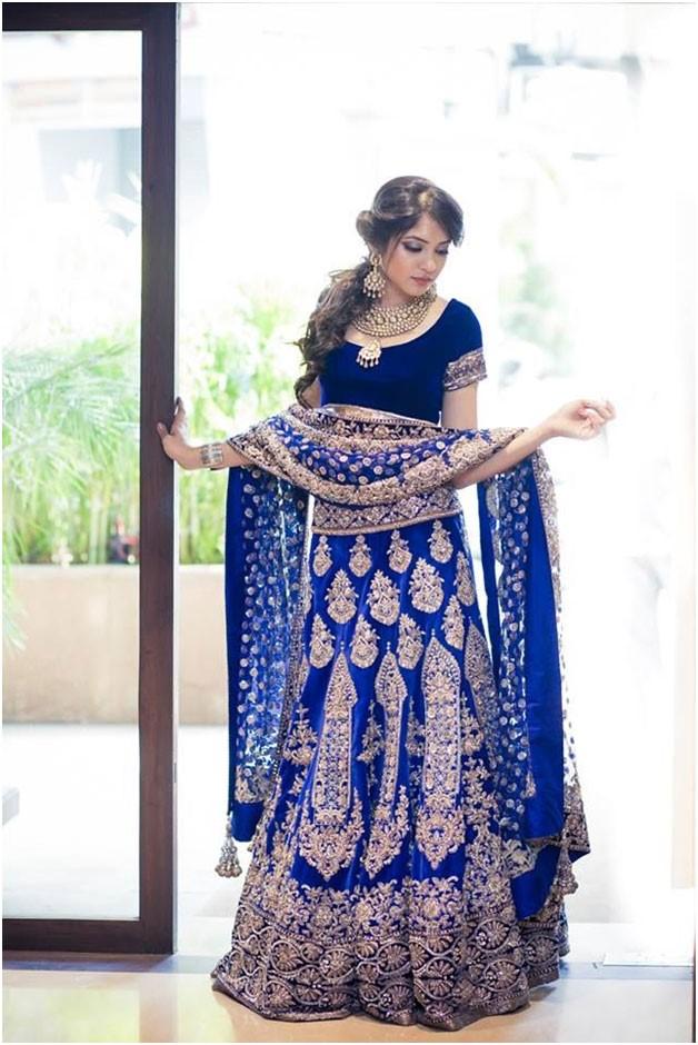 Blue Lehenga | Fashion in India