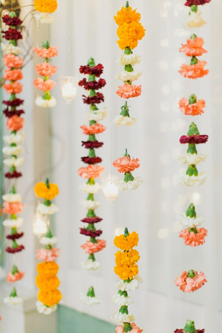 Hanging Fresh Flowers