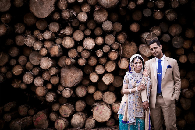 Outdoor Indian Wedding photo by Monir Ali