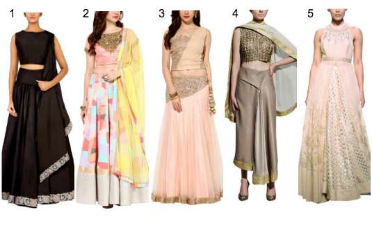 Contemporary Lehenga Collection | Contemporary v/s Traditional Indian Wedding Attire