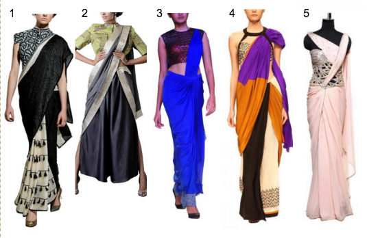 Contemporary Saree Collection | Contemporary v/s Traditional Indian Wedding Attire