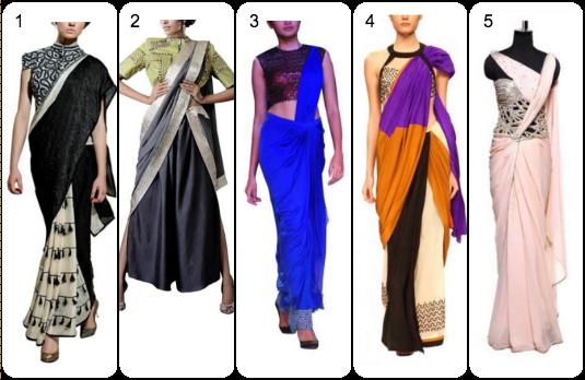 Contemporary Saree Collection   Contemporary v/s Traditional Indian Wedding Attire