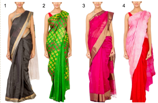 Traditional Saree Collection | Contemporary v/s Traditional Indian Wedding Attire