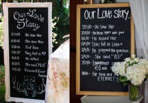 Our Love Story | Unique Wedding Venue Decoration
