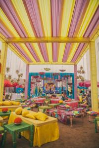 Colourful Wedding Venue | Unique Wedding Venue Decoration