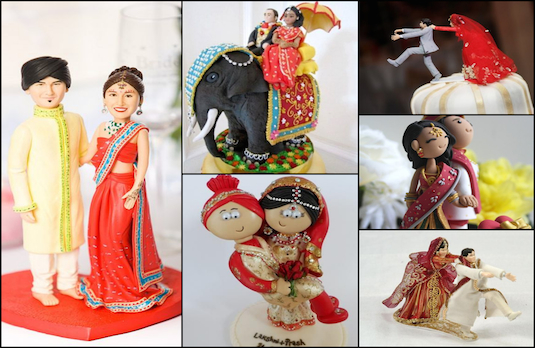 Cake Toppers | The New Trend of Indian Wedding Cakes