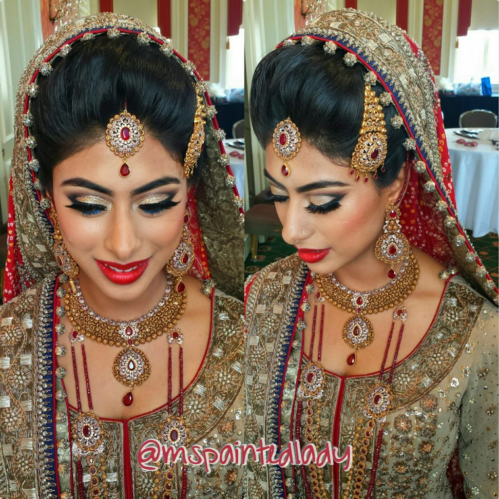 Ms Painted Lady is About More Than Applying Indian Bridal Makeup