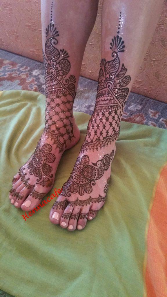 Henna Cafe's Artistic Henna Designs